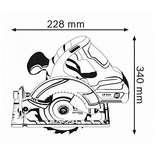 Bosch Professional GKS 18 V Akkukreissäge im Test