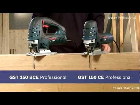 BOSCH Stichsäge GST 150 CE - die Stärkste ihrer Preisklasse