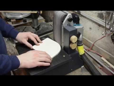Bandschleif-Vorrichtung bauen   Kantenschleifer   Schleifmaschine bauen   DIY
